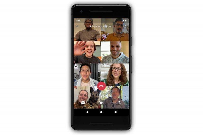Begini Cara Lakukan Panggilan Video 8 Orang di WhatsApp