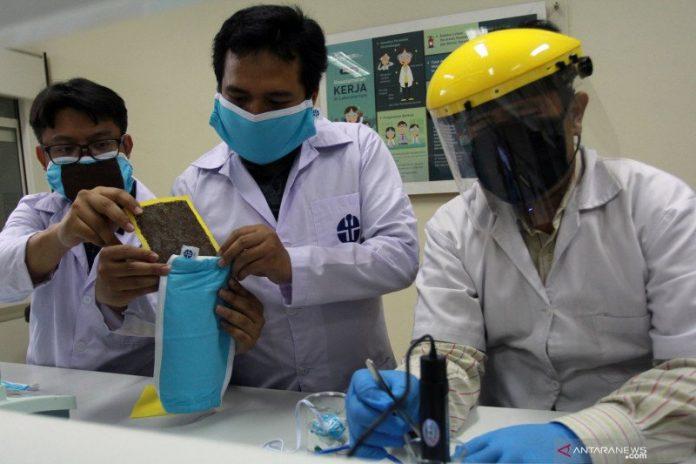 Mantap, LIPI Berhasil Bikin Masker Kain yang Mematikan Virus Corona