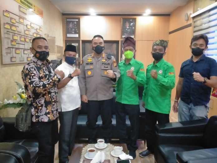 DPW RMB-LHMR Kota Pekanbaru Jalin Silaturahmi Bersama Kapolresta Pekanbaru