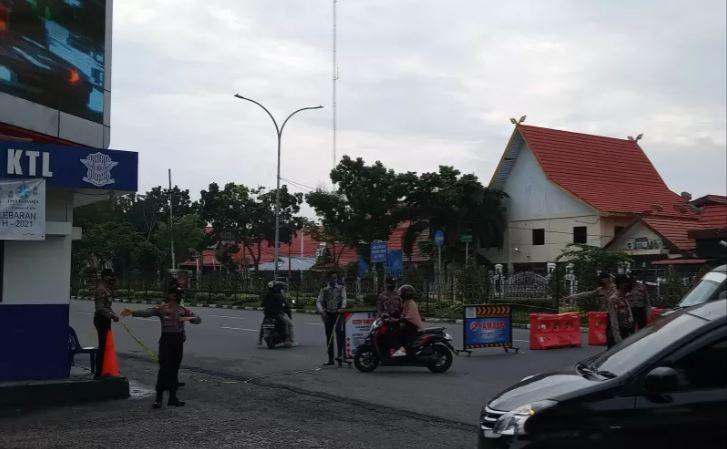 Kota Pekanbaru Masih Berstatus PPKM Level 4